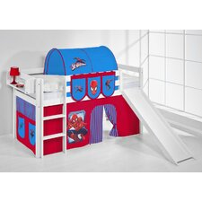 Jelle Spider-Man Mid Sleeper Bed