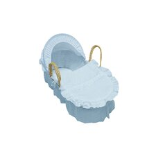 All Over Print Broderie Anglaise Moses Basket