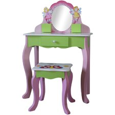 Garden Friends Dressing Table Set with Mirror