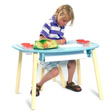 2-tlg. Kindertisch und Stuhl-Set Forest Friends