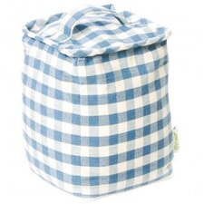 Türstopper Faded Gingham aus Stoff