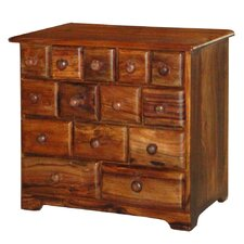 Kerala Sheesham Ramgarh 14 Drawer Cabinet