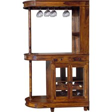 Kerala Bar Cabinet with Wine Storage