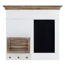 Inishmulclohy 68cm Organizer with Blackboards
