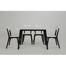 Pitt Dining Table and 4 Chairs