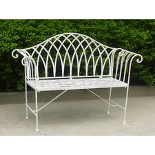 Megrez 2 Seater Steel Garden Bench