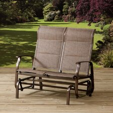 Mizar Padded Double Rocking Chair with Cushions