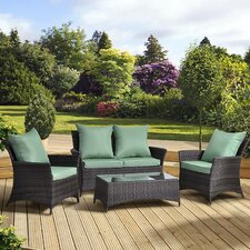 Tucana 4 Seater Sofa Set with Cushions