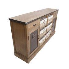 Sideboard Hesby mit 2 Türen und 2 Schubladen