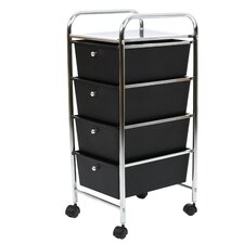Utility Cart with 4 Drawers
