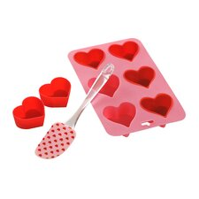 Heart Backform Set 8-tlg.