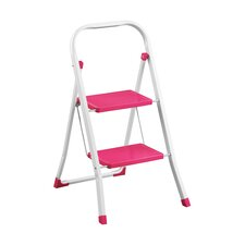 2-step Metal Step Stool