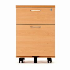KIS 2-Drawer Mobile Vertical Filing Cabinet