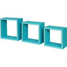 3 Piece Accent Shelf Unit