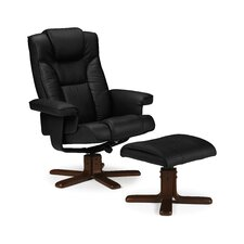 Lindo Massage Recliner and Footstool