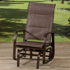 Mizar Padded Single Rocking Chair with Cushions
