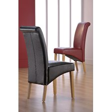 Maule Solid Wood Upholstered Dining Chair