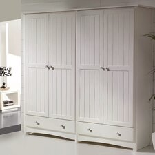 Paisley 4 Door Wardrobe
