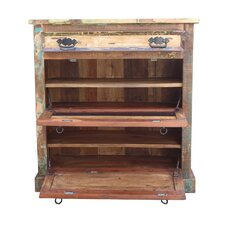 Riverboat Shoe Cabinet