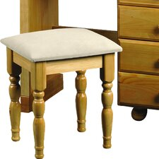 Woodward Upholstered Dressing Table Stool