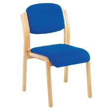 Renoir Armless Stacking Chair with Cushion
