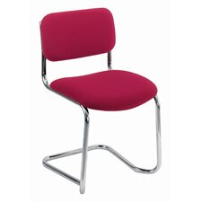 Armless Meeting Stacking Chair with Cushion