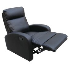 Petrito Faux Leather Recliner