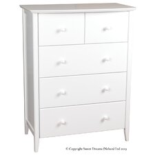 Ruby 5 Drawer Chest of Drawers