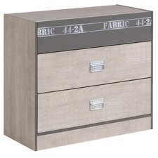 Ellice 2 Drawer Chest of Drawers