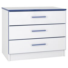 Kiddi 3 Drawer Chest of Drawers