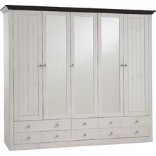 Furlong 5 Door Wardrobe