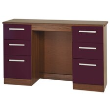 Yaple 6 Drawer Kneehole Dressing Table