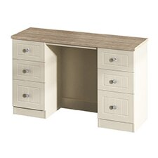 Prince Charles Kneehole 6 Drawer Dressing Table