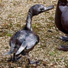 Statue Mittelgroße Ente