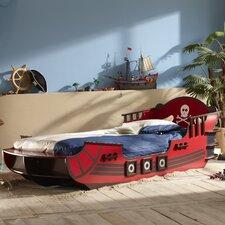 Einzelbett Pirat, 90 x 190/200 cm