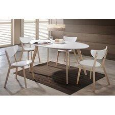 Jessica Dining Table and 4 Chairs
