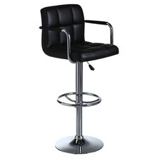 Miami Swivel Adjustable Bar Stool (Set of 2)
