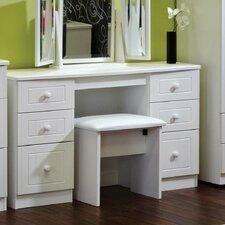 Aruner 6 Drawer Kneehole Dressing Table