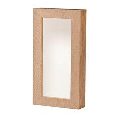 Wandmontierter Schmuckschrank Westby mit Spiegel