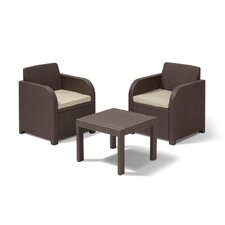 Ricella 2 Seater Bistro Set with Cushions