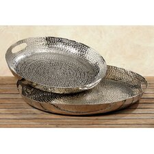 Selina 2-Piece Decorative Tray Set (Set of 2)