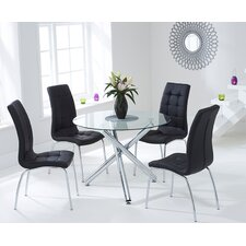 Nessa Dining Table and 4 Chairs