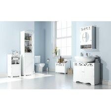 Kandos 40 x 169.5cm Free Standing Tall Bathroom Cabinet