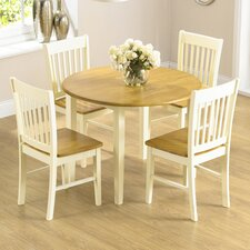 Orkneys Extendable Dining Table and 4 Chairs