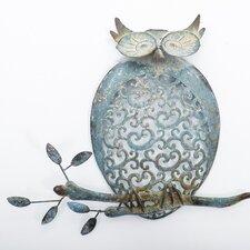 Wanddekoration Owl on Branch