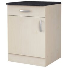 Küchenunterschrank Niehl mit Tür und Schublade