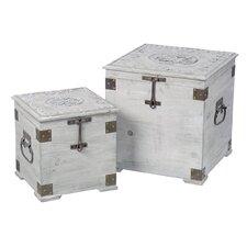 2-tlg. Schmuckboxen-Set