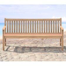 3-Sitzer Gartenbank Muireann aus White Balau Holz