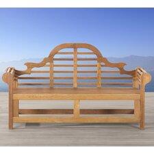 3-Sitzer Gartenbank Muireann Marlboro aus White Balau Holz