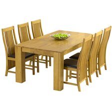 Malteses Dining Table and 6 Chairs